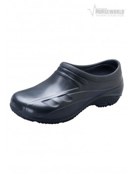 AnyWear Unisex Slip Resistant Injected Closed Back Clog - Exact
