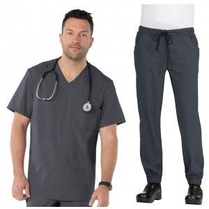 Koi Lite Men's Force/Jaxon Jogger Pants Scrub Set- 667/607