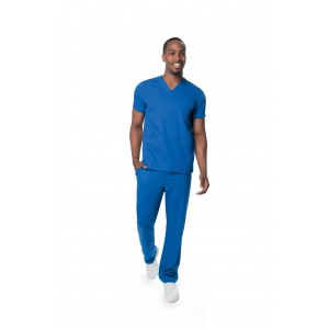 Urbane Ultimate Men's Multi 10 Pocket Stretch Scrub Set- 9151/9252