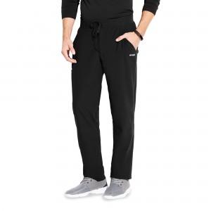 Grey's Anatomy Evolution Men's Elastic Waist Regular / Tall Scrub Pants - GEP002