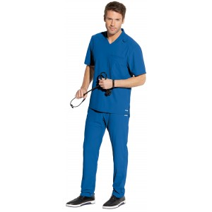 Grey's Anatomy Edge Men's Designer Scrub Set - GET009/GEP002