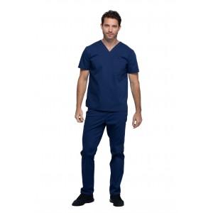 Cherokee Workwear Professionals Unisex 4 Pocket Straight Leg Scrub Set- WW644/WW030