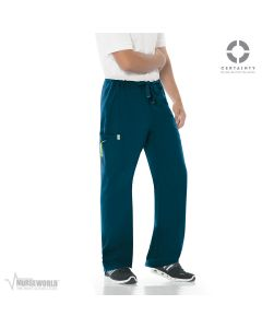 Code Happy Men's Antimicrobial Bliss Drawstring Cargo Pant with Certainty - 16001A
