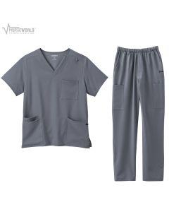Jockey Unisex 4 Pocket Top with Men's Cargo Pant - 2371/2305