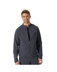 Jockey Unisex Zip and Go 3 Pocket Stretch Scrubs Warm Up Jacket – 2477