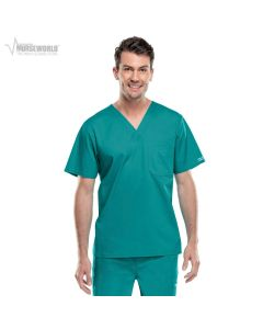 Cherokee Men's Workwear Stretch V-Neck Scrub Top - 4743
