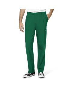 WonderWink W123 Men's Cargo Pocket Pants with Full Elastic Waist and Zip Fly – 5355