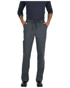 Koi Stretch Men's Ryan Slim Leg Cargo Pocket Scrub Pants-604