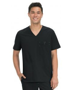 Koi Basics V-Neck Bryan Scrub Top for Men - 668
