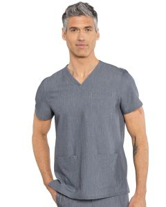 RothWear by Med Couture Westcott Three Pocket Stretch Men's Scrub Top– 7477