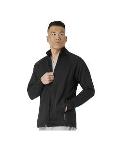WonderWink Layers Men's Fleece Zip Front Scrub Jacket - 8309