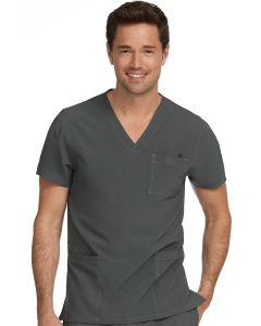 Med Couture Activate Men's 4 Pocket V-neck Scrub Top- 8528