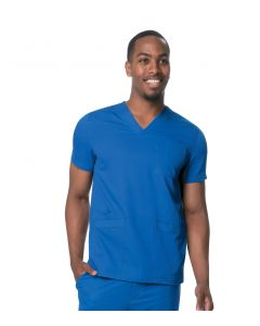 Urbane Ultimate Men's 4 Pocket Stretch V-neck Scrub Top- 9151