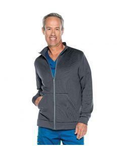 Urbane Performance Men's Zip Front Fleece Warm Up Scrub Jacket - 9972