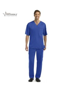 Grey's Anatomy Men's 3 Pocket Top/6 Pocket Cargo Pant Set - 0103/0203