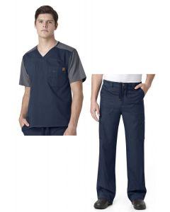 Carhartt Men's Color Block Cargo Pant Scrub Set - C14108/C54108