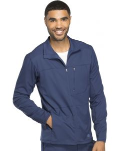 Dickies Dynamix Men's Front Zip Multi Pocket Warm Up Scrub Jacket- DK310