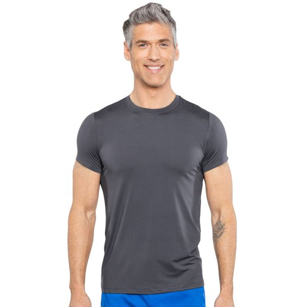 RotheWear by Med Couture Mason Men's Short Sleeves Underscrub - 8569