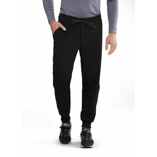 Barco One Men's Vortex 6 Pocket Cargo Jogger Scrub Pants - BOP520
