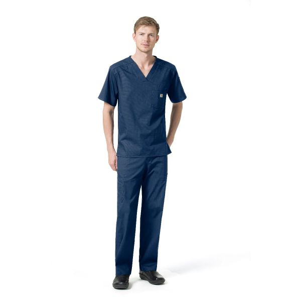 Carhartt Men's Ripstop Rugged Flex Slim Fit Multi Pocket Scrub Set- C16418/C56418