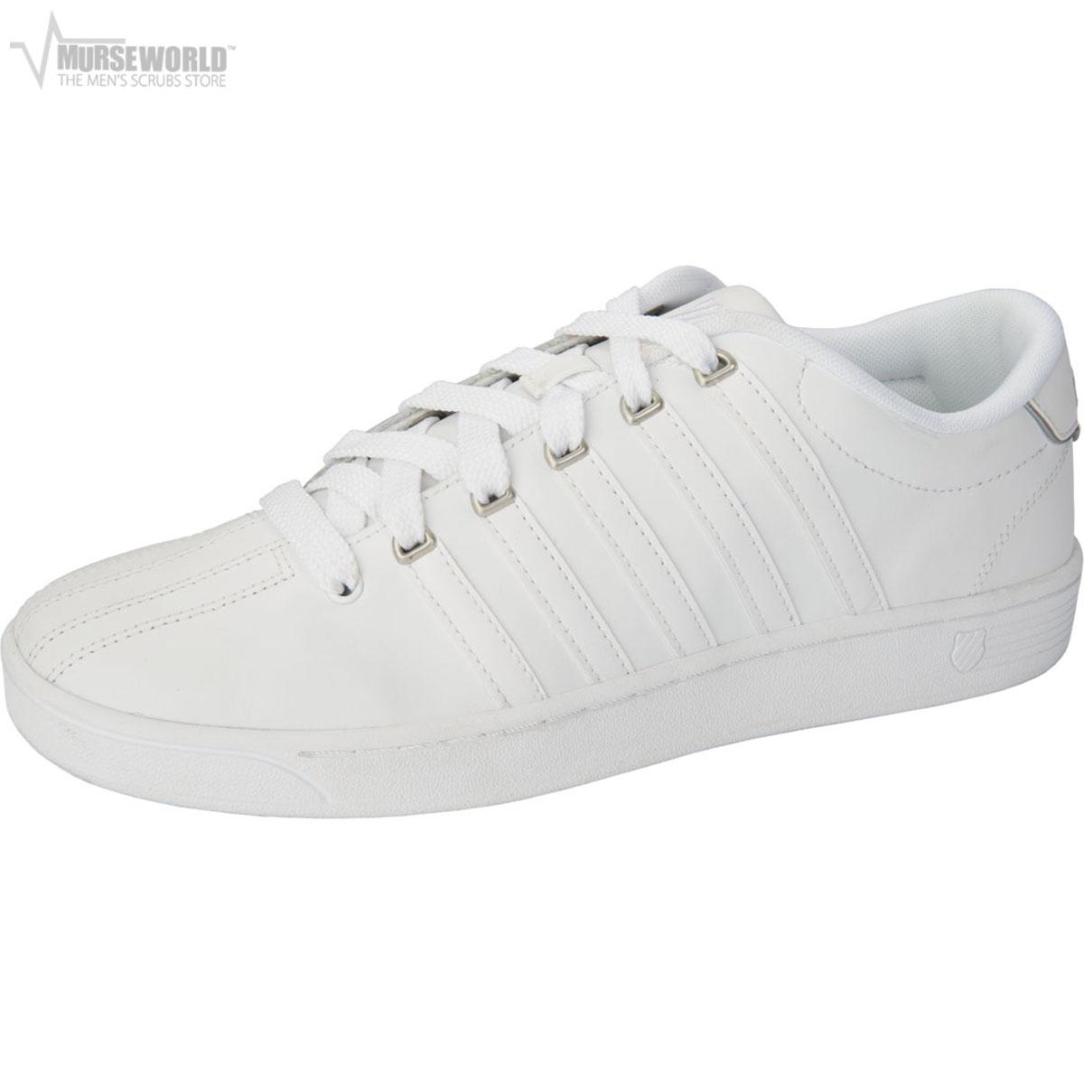 K-Swiss Men's Leather Athletic Sneaker - MCMFIICOURTPRO