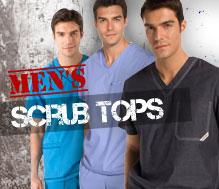 Men's Scrub Tops